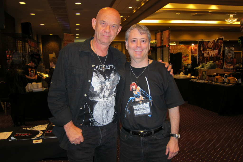 Doug Bradley and Me at Fright Night Film Fest (10-4-14)