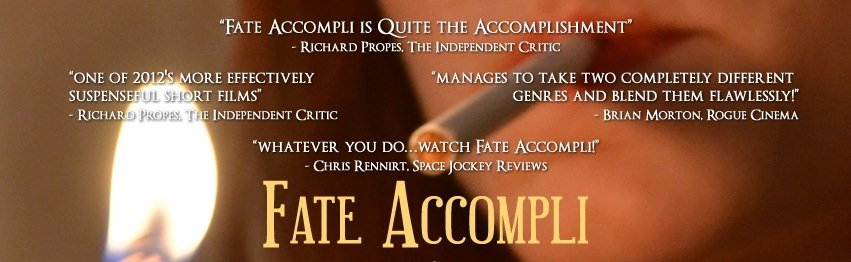 Fate Accompli Poster (Featuring a quote from SJR) 03