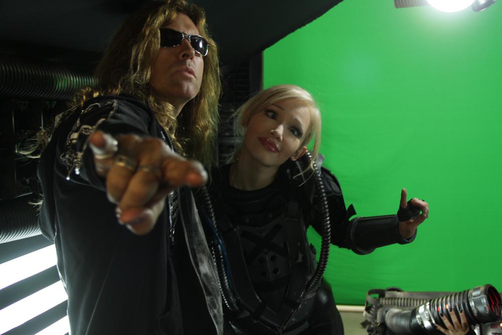 Director Neil Johnson and Emii