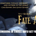 Fate Accompli Poster (Featuring a quote from SJR)