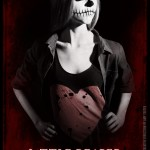 Actress Athena Baumeister on LITTLE REAPER's movie poster! Out-of-this world for sure!