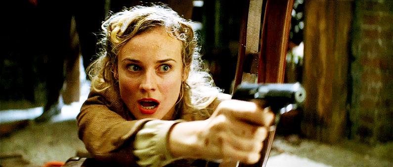 Diane Kruger in Inglorious Basterds