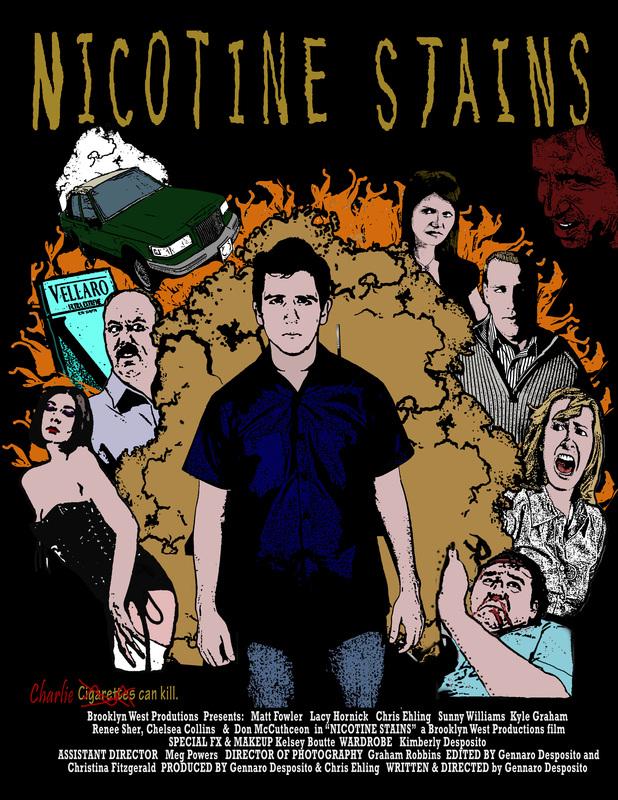 Nicotene Stains
