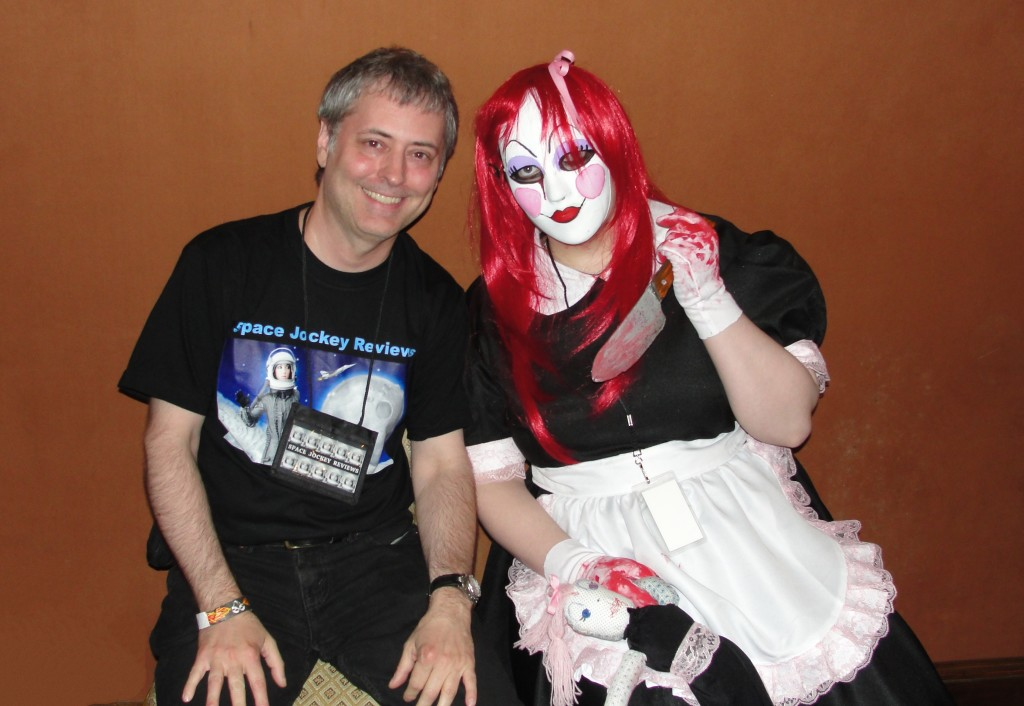 Chris Rennirt with a deadly doll at Days of the Dead (Photo by Kennie Combs Jr.)