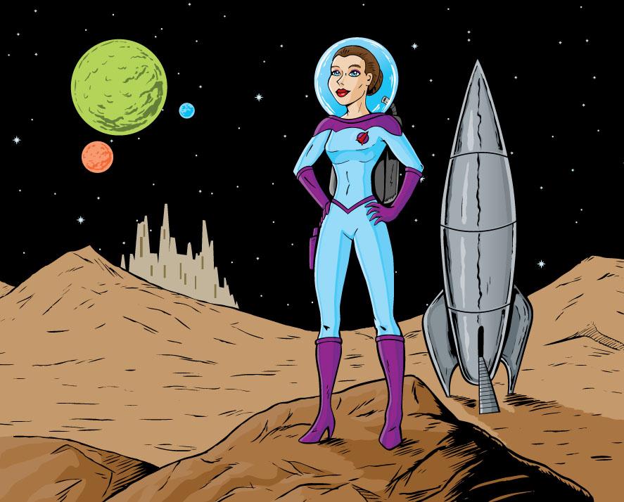 Space Jockey (Animation 01)