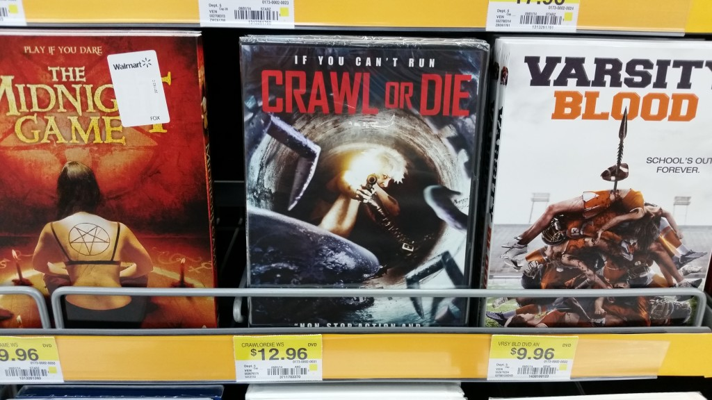 Crawl or Die (at Walmart)