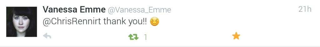 Vanessa Emme Tweet 03